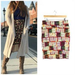 LulaRoe Cassie Pencil Skirt Size Large 14-16